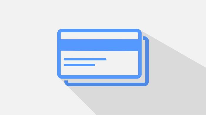 Deposit creditcard