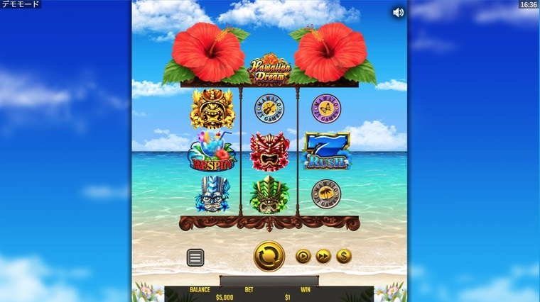 Slot hawaiiandream