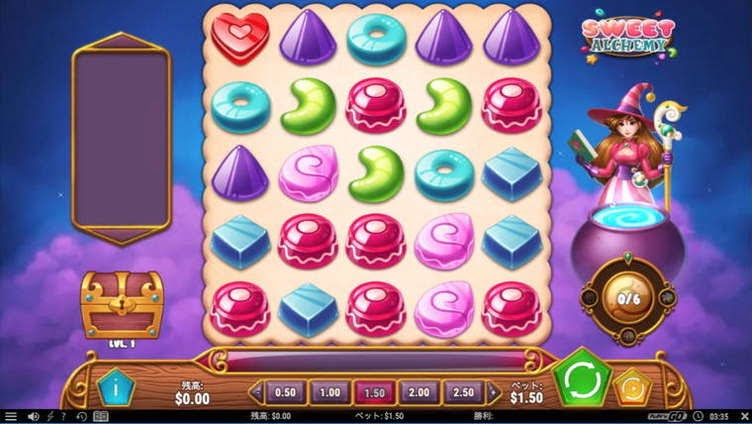 Slot sweetalchemy