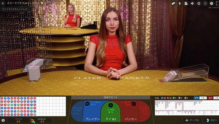 ベラジョンカジノ カジノパリス speedbaccarat
