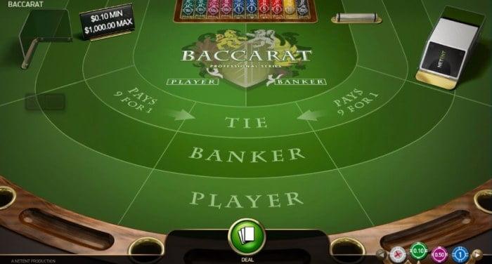 Baccarat rule4