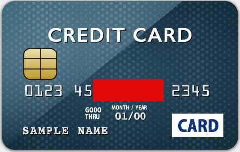 クレジットカード表面