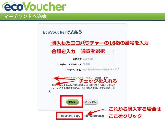 クイーンカジノ エコバウチャー入金7