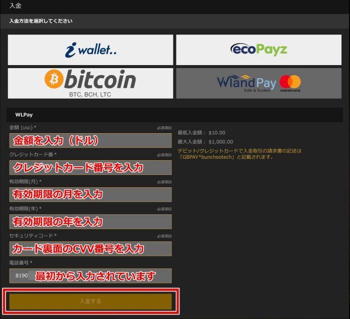 カジノカジノ 入金方法11