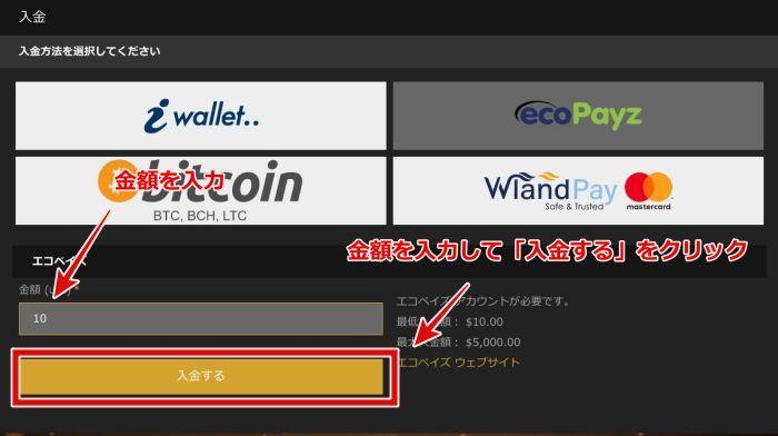 カジノカジノ 入金方法5