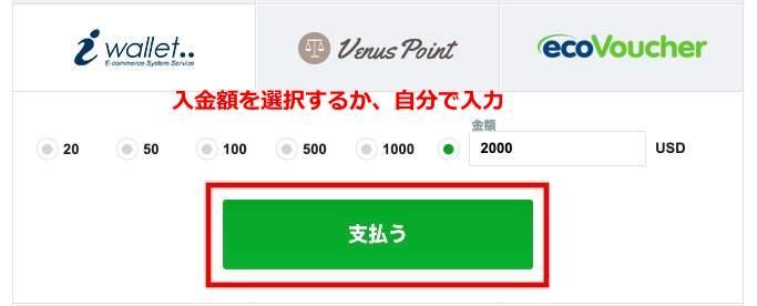 Casinox deposit11