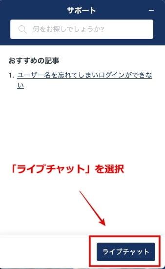 カジ旅 サポート 問い合わせ3