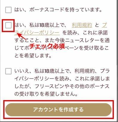 チェリーカジノ 登録方法 スマホ5