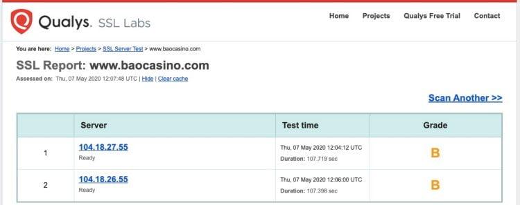 Baocasino licence2