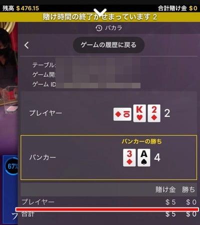 インターカジノ 8月ご褒美キャンペーン12