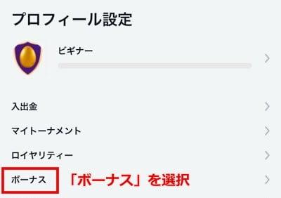 ビットカジノ 入金ボーナス3