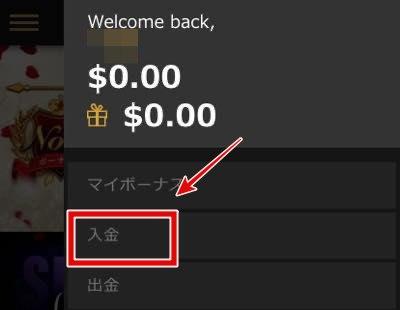 カジノカジノ 入金画面